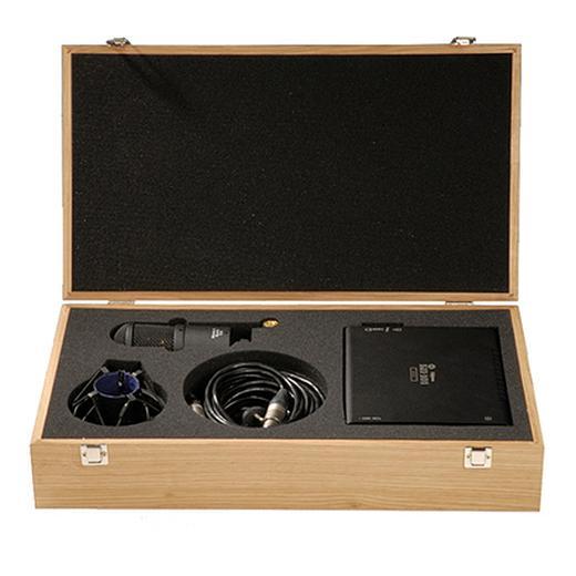 цены на Студийный микрофон Октава МКЛ-4000 Matte Black (в деревянном футляре)  в интернет-магазинах