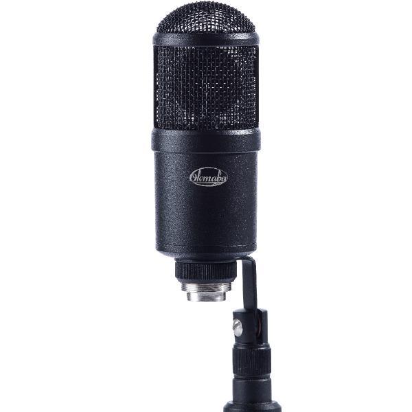 цены на Студийный микрофон Октава МКЛ-4000 Matte Black (в картонной коробке)  в интернет-магазинах
