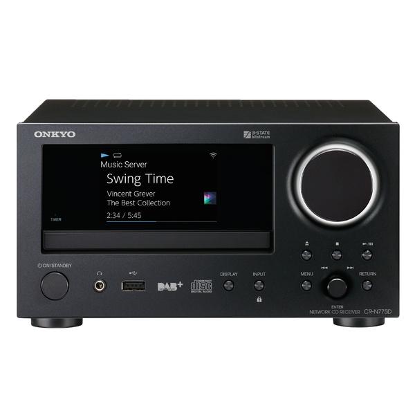 CD ресивер Onkyo CR-N775D Black цена