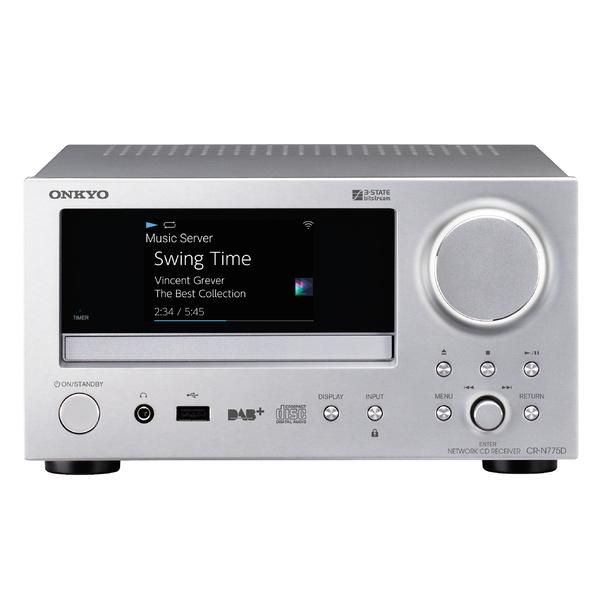 CD ресивер Onkyo CR-N775D Silver цена