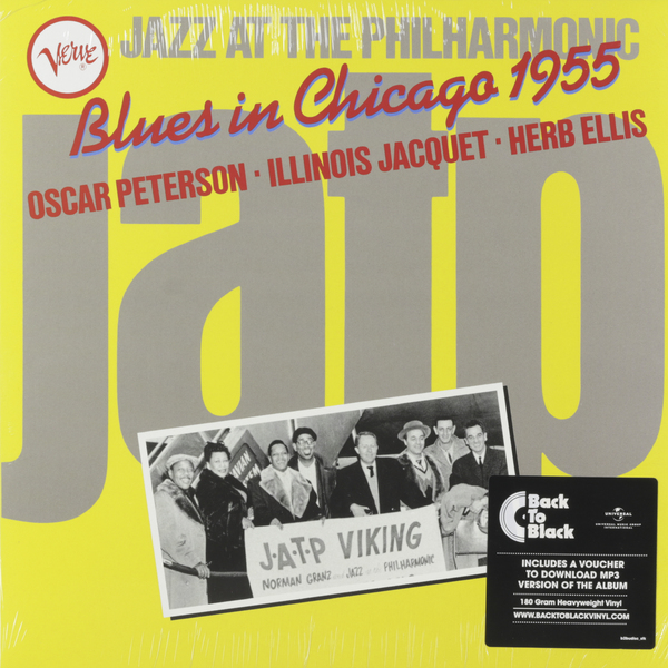 Oscar Peterson Oscar Peterson - Jazz At The Philharmonic: Blues In Chicago 1955 sjd peterson conner s courage