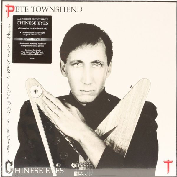 Pete Townshend Pete Townshend - All The Best Cowboys Have Chinese Eyes (coloured) скальп петуха veniard chinese cock cape