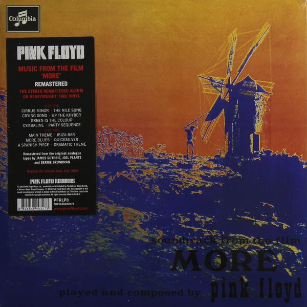 лучшая цена Pink Floyd Pink Floyd - More (180 Gr)