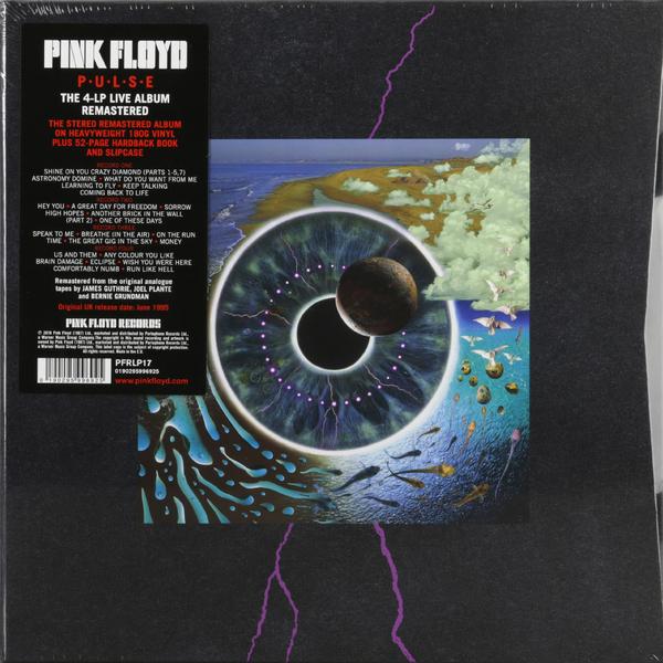 цена Pink Floyd Pink Floyd - Pulse (4 Lp, 180 Gr) онлайн в 2017 году