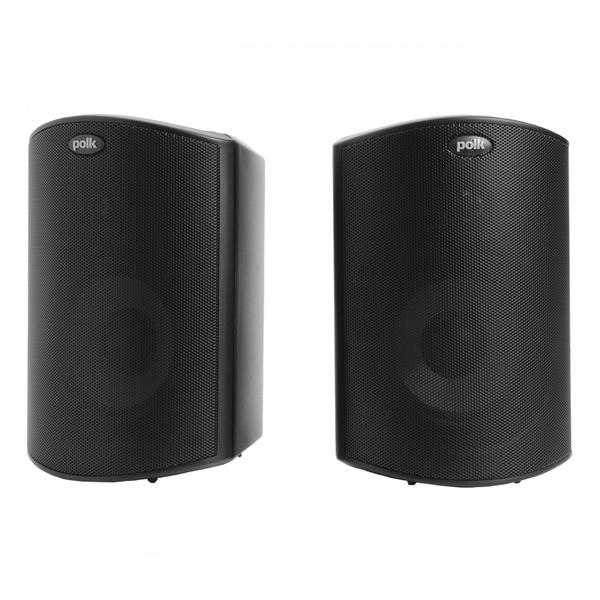 Всепогодная акустика Polk Audio Atrium 4 Black профессиональный динамик нч sica 12e2 5cs 4 ohm