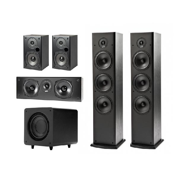 Комплект акустики 5.1 Polk Audio T Black цена и фото