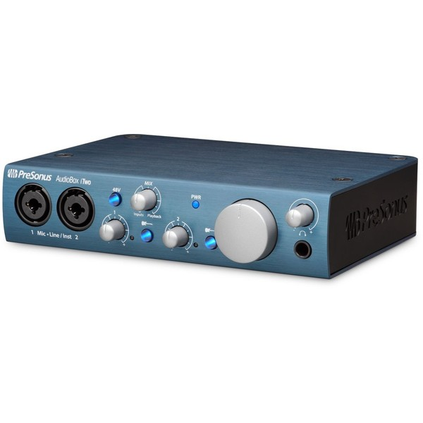 Внешняя студийная звуковая карта PreSonus AudioBox iTwo внешняя студийная звуковая карта presonus audiobox 1818vsl