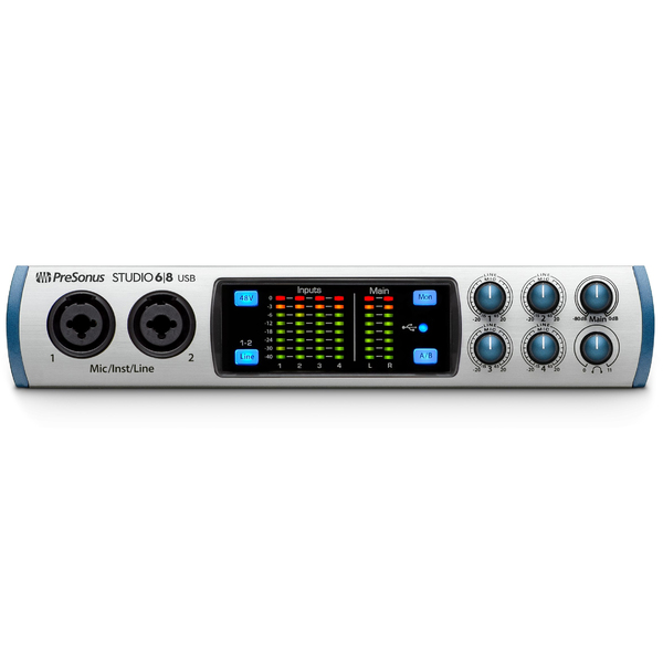 Внешняя студийная звуковая карта PreSonus Studio 68 внешняя студийная звуковая карта presonus audiobox 1818vsl