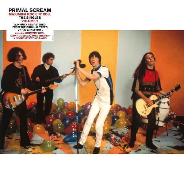 Primal Scream Primal Scream - Maximum Rock 'n' Roll: The Singles Vol. 2 (2 Lp, 180 Gr) цена и фото
