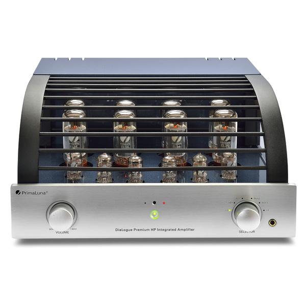 Ламповый стереоусилитель PrimaLuna DiaLogue Premium HP Silver ламповый стереоусилитель cary audio design sli 80 silver