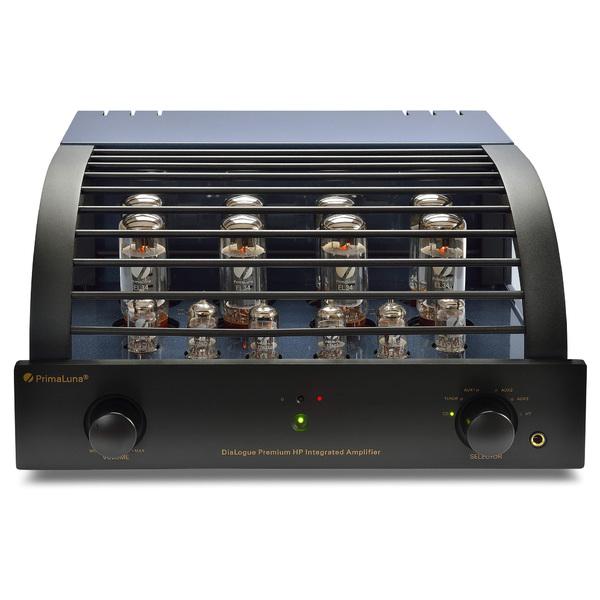 Ламповый стереоусилитель PrimaLuna DiaLogue Premium HP Black ламповый усилитель для наушников cary audio design hh 1 black