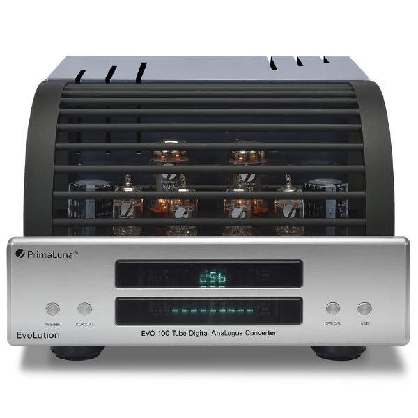 все цены на Внешний ЦАП PrimaLuna Evolution 100 DAC Silver онлайн
