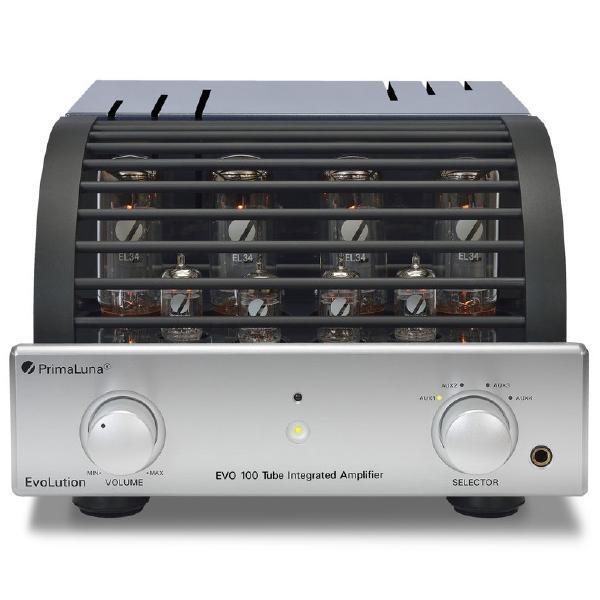 Ламповый стереоусилитель PrimaLuna Evolution 100 Int Silver ламповый стереоусилитель cary audio design cad 300 sei silver