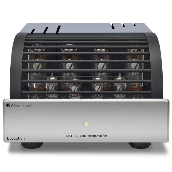Ламповый стереоусилитель мощности PrimaLuna Evolution 100 Power Silver ламповый стереоусилитель cary audio design sli 80 silver