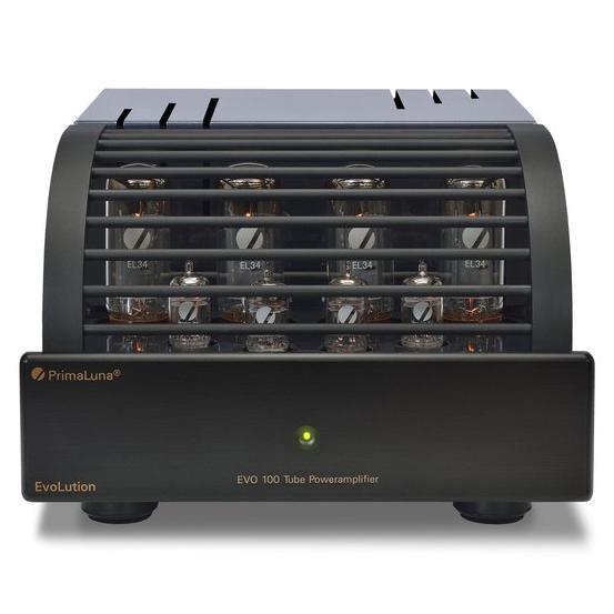 Ламповый стереоусилитель мощности PrimaLuna Evolution 100 Power Black ламповый стереоусилитель мощности cary audio design cad 120s black