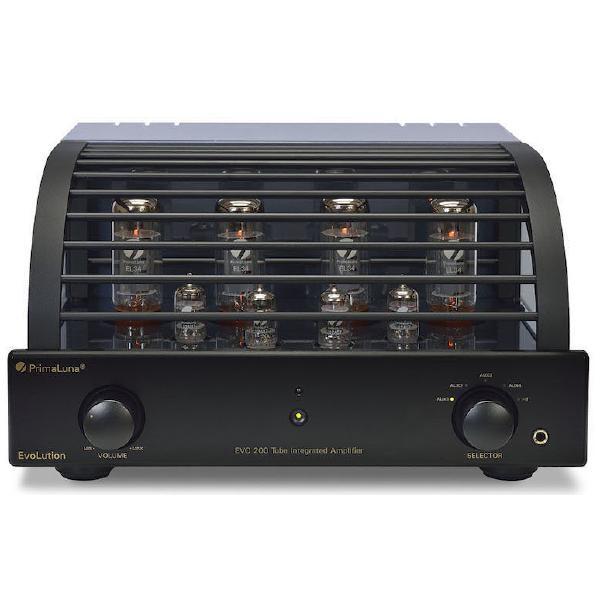 Ламповый стереоусилитель PrimaLuna Evolution 200 Int Black ламповый стереоусилитель cary audio design cad 300 sei black