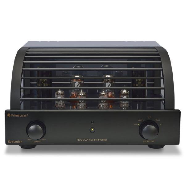 Ламповый предусилитель PrimaLuna Evolution 200 Pre Black ламповый усилитель для наушников cary audio design hh 1 black