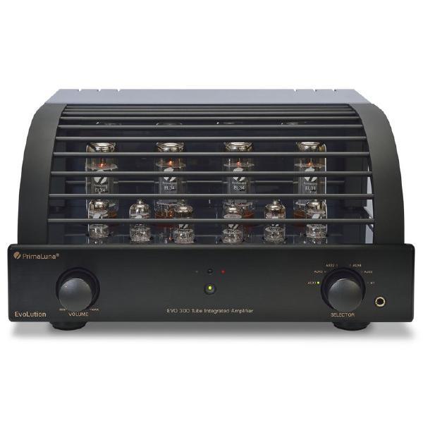 Ламповый стереоусилитель PrimaLuna Evolution 300 Int Black ламповый стереоусилитель cary audio design cad 300 sei black