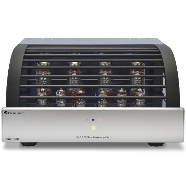 Ламповый стереоусилитель мощности PrimaLuna Evolution 300 Power Silver ламповый стереоусилитель cary audio design sli 80 silver