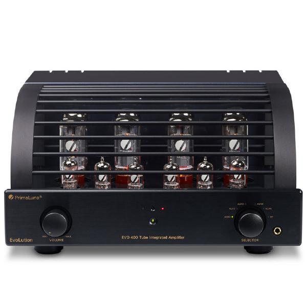 Ламповый стереоусилитель PrimaLuna Evolution 400 Int Black ламповый стереоусилитель cary audio design cad 300 sei black