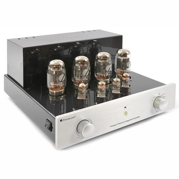 Ламповый стереоусилитель PrimaLuna ProLogue Premium Integrated (EL34) Silver