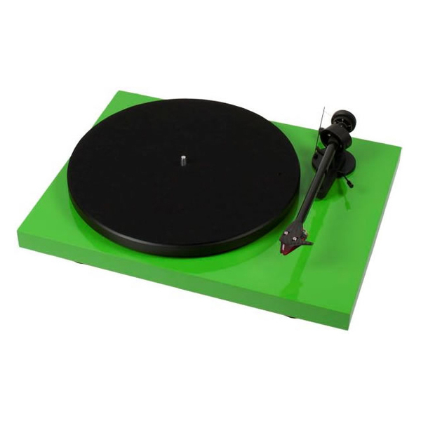 Виниловый проигрыватель Pro-Ject Debut Carbon DC Green (2M-Red) pro ject debut carbon dc phono usb red om 10
