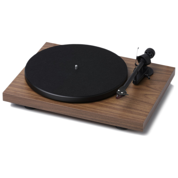 Виниловый проигрыватель Pro-Ject Debut Carbon DC Walnut (2M-Red) pro ject debut carbon dc phono usb red om 10