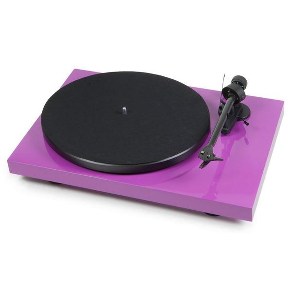 Виниловый проигрыватель Pro-Ject Debut Carbon DC Phono USB Purple (OM-10) pro ject debut carbon dc phono usb red om 10