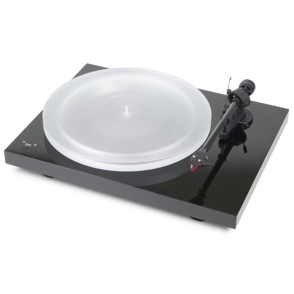 Виниловый проигрыватель Pro-Ject Debut Carbon RecordMaster HiRes Piano Black (2M-Red) pro ject debut carbon dc walnut 2m red