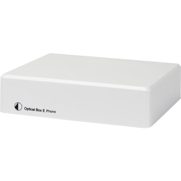 Фонокорректор Pro-Ject Optical Box E Phono White цена и фото