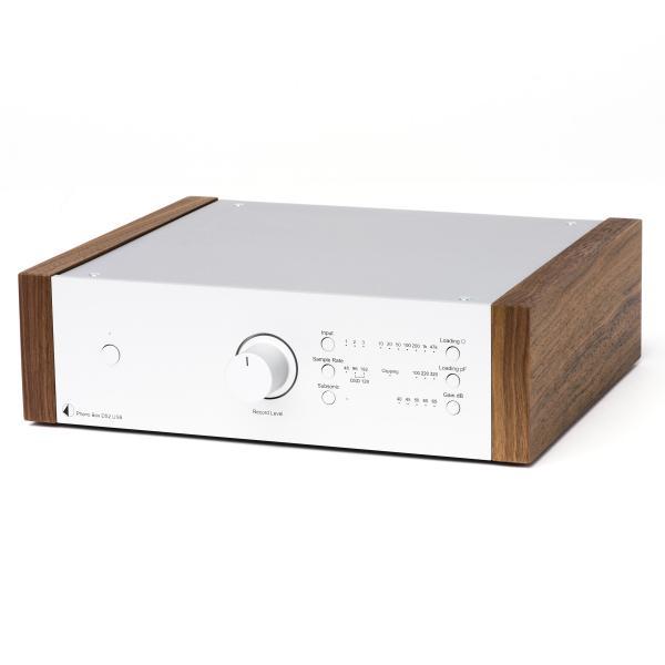 Фонокорректор Pro-Ject Phono Box DS2 USB Silver/Walnut цена и фото