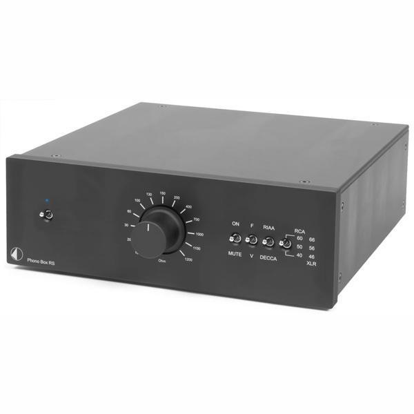 Фонокорректор Pro-Ject Phono Box RS Black цена и фото