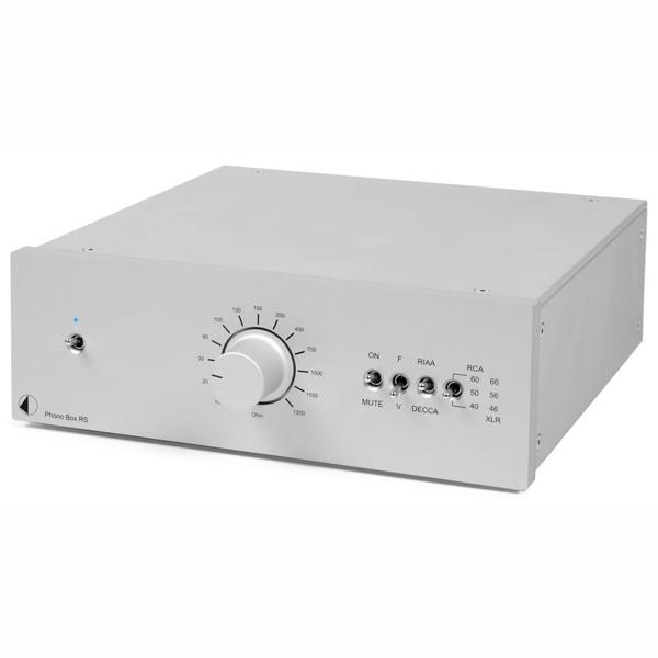 Фонокорректор Pro-Ject Phono Box RS Silver цена и фото