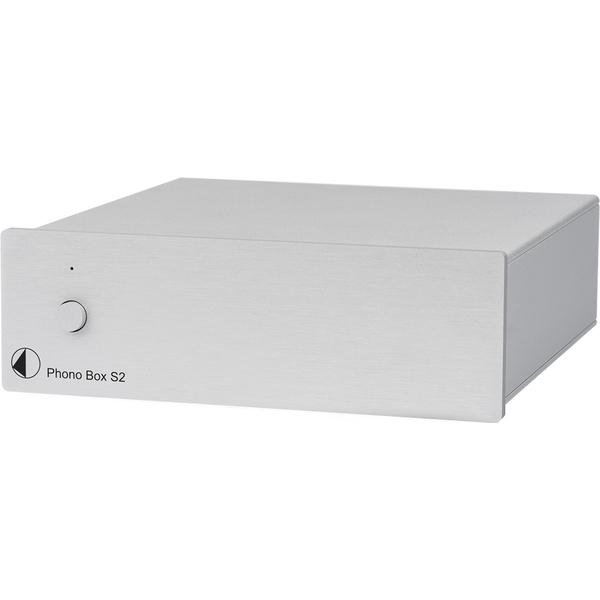 Фонокорректор Pro-Ject Phono Box S2 Silver цена и фото