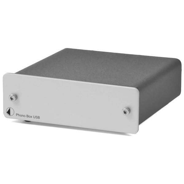 Фонокорректор Pro-Ject Phono Box USB Silver цена 2017