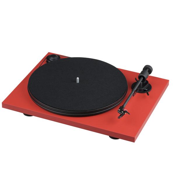 Виниловый проигрыватель Pro-Ject Primary E Red (OM-NN) виниловый проигрыватель pro ject juke box e white om 5e уценённый товар