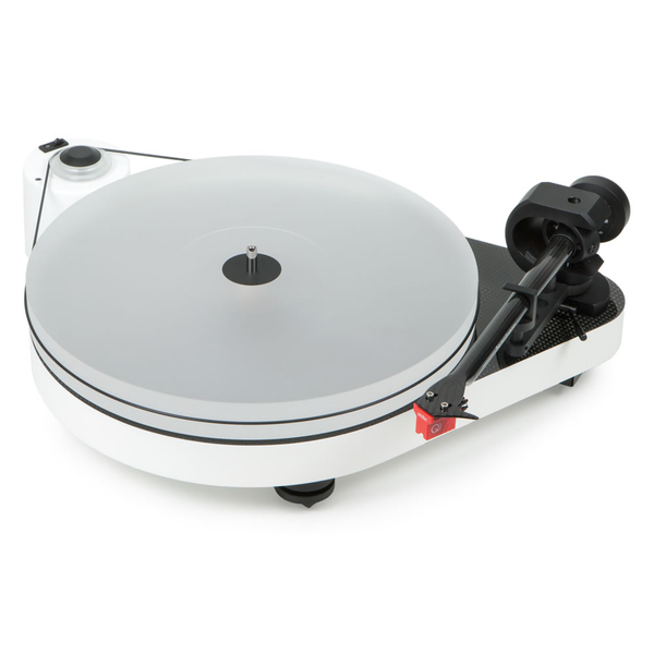 Виниловый проигрыватель Pro-Ject RPM 5 Carbon White inter step vels 8 5 white