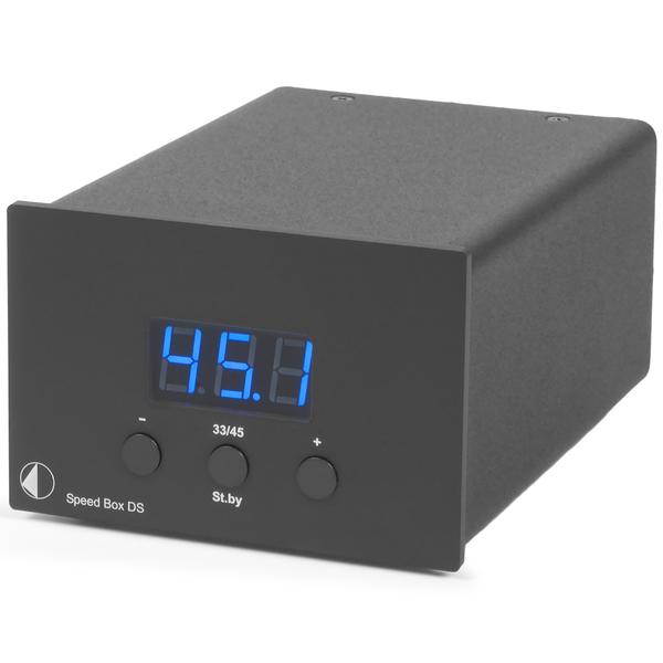Товар (аксессуар для винила) Pro-Ject Переключатель скоростей Speed Box DS Black цены онлайн