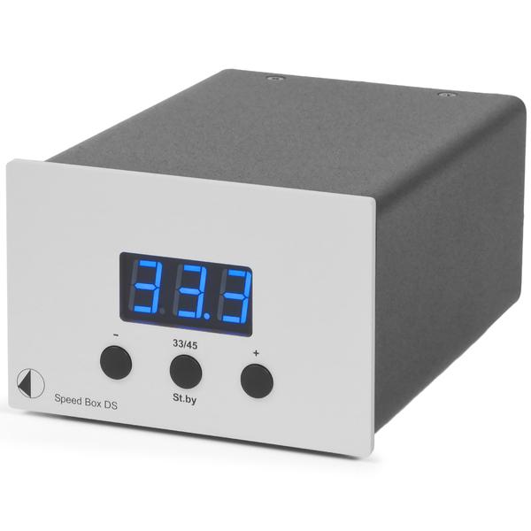 Товар (аксессуар для винила) Pro-Ject Переключатель скоростей Speed Box DS Silver цены онлайн