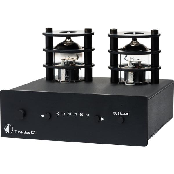 Ламповый фонокорректор Pro-Ject Tube Box S2 Black цена и фото
