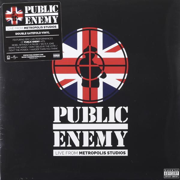 Public Enemy Public Enemy - Live From Metropolis Studios (2 LP) enemy games
