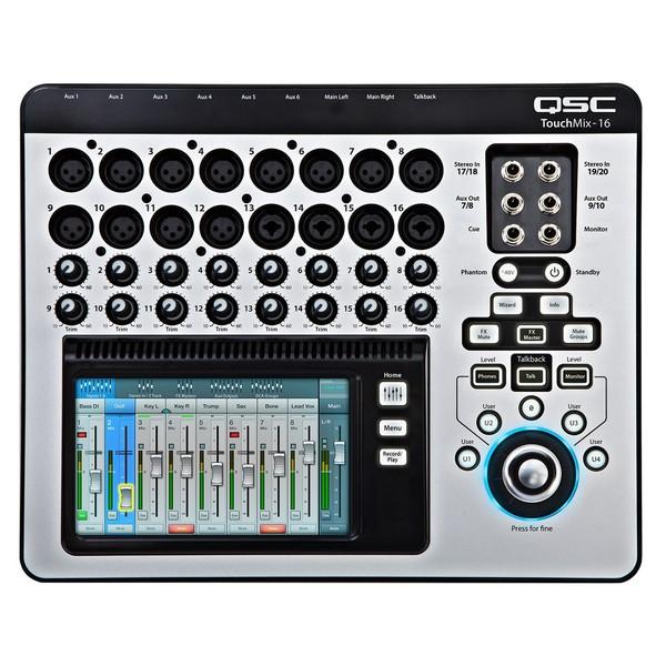 Цифровой микшерный пульт QSC TouchMix-16 цифровой микшерный пульт allen