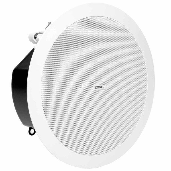 Встраиваемая акустика трансформаторная QSC AD-C4T-LP подвесной громкоговоритель qsc ad p6t white