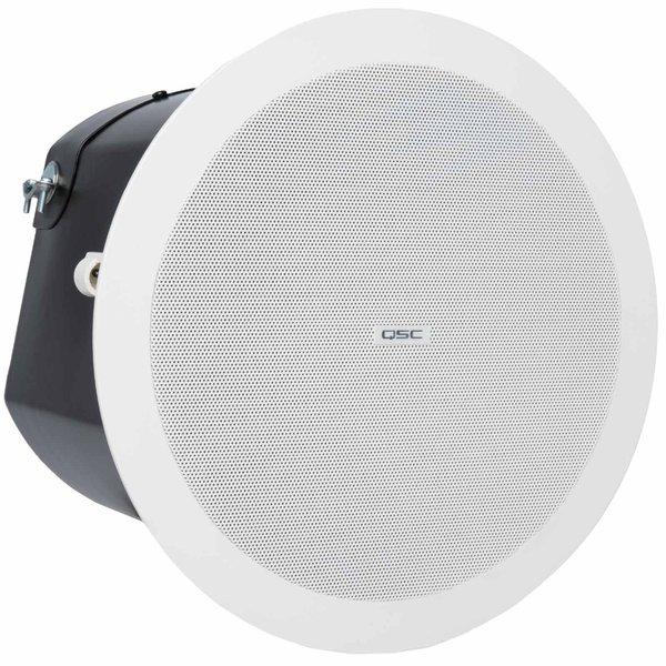 Встраиваемая акустика трансформаторная QSC AD-C6T подвесной громкоговоритель qsc ad p6t white