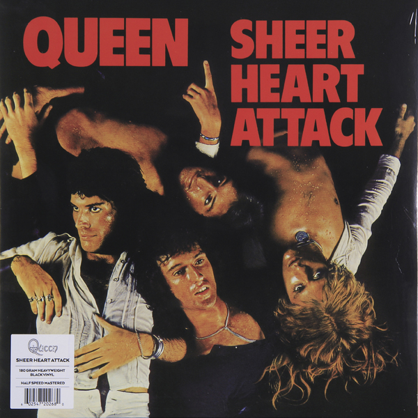 QUEEN QUEEN - Sheer Heart Attack (180 Gr) queen queen news of the world 180 gr