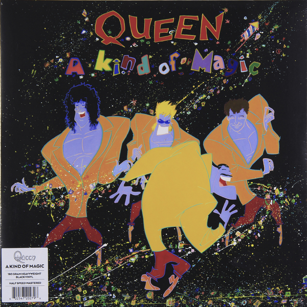 QUEEN QUEEN - A Kind Of Magic (180 Gr) queen queen news of the world 180 gr