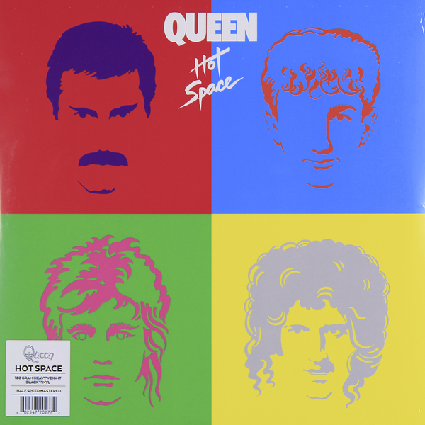QUEEN QUEEN - Hot Space (180 Gr) queen queen news of the world 180 gr