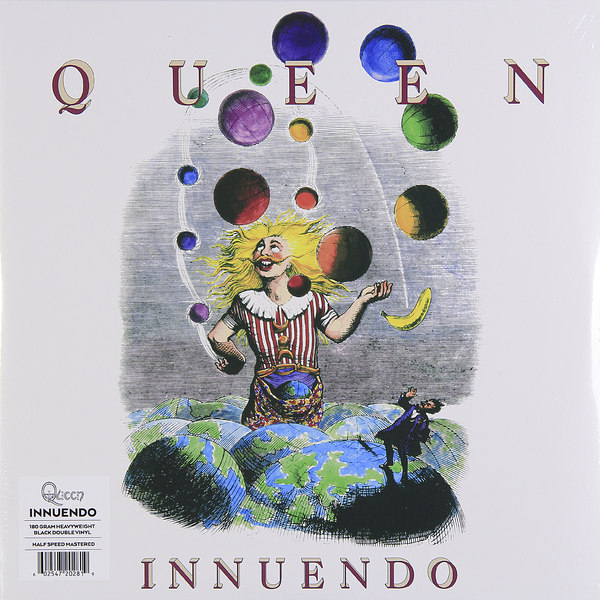 QUEEN QUEEN - Innuendo (2 Lp, 180 Gr) цена и фото