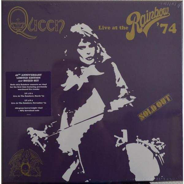 QUEEN QUEEN - Live At The Rainbow (4 Lp Box) блузка understanding the queen s003 2015