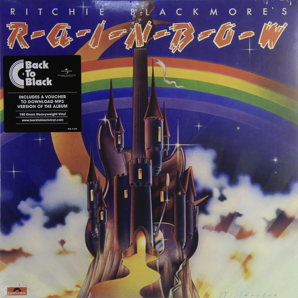 лучшая цена Rainbow Rainbow - Ritchie Blackmore's Rainbow (180 Gr)